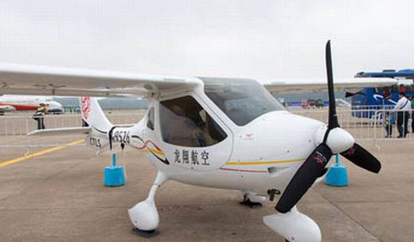 chinas first electric plane