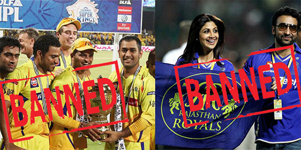 chennai super kings and rajasthan royals