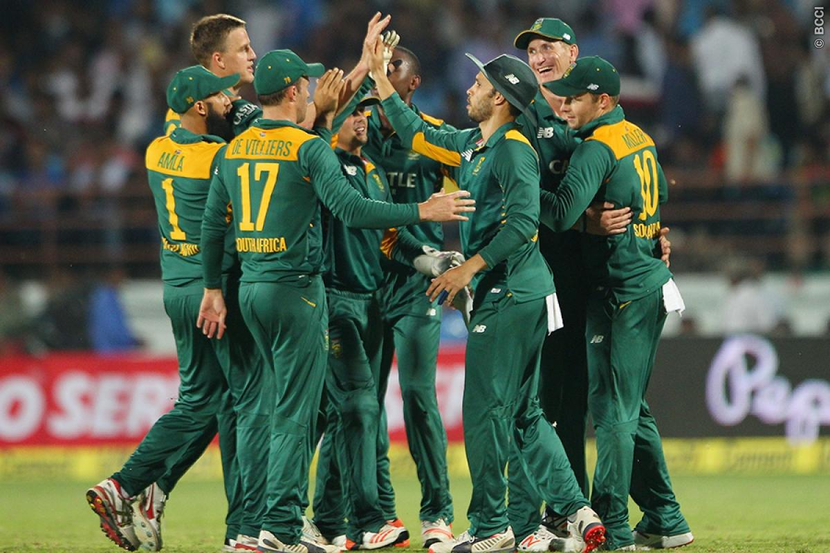 South Africa won the 3-match T-20 series against India 2-0