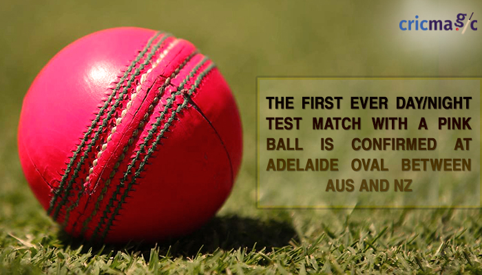 Australia, New Zealand to play the historic first day-night Test at Adelaide Oval