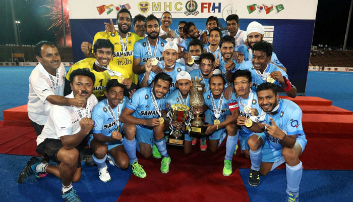India Juniors won 8th Men's Junior Asia hockey cup by defeating Pakistan