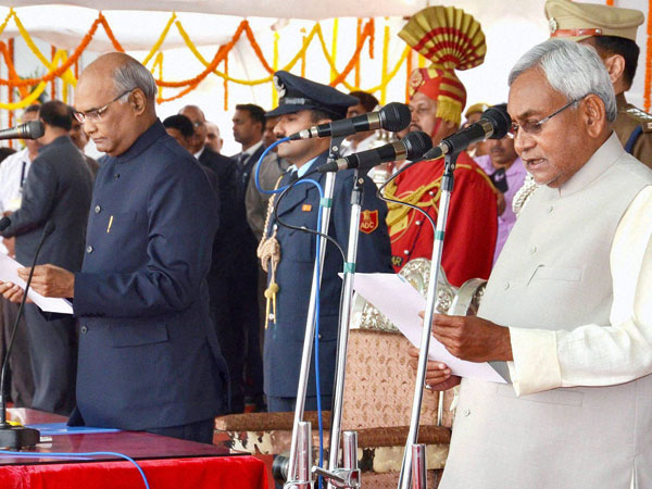 Nitish Kumar sworn-in as Bihar Chief Minister