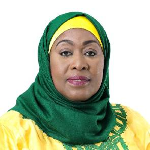 Tanzania_s first female Vice President Samia Suluhu sworn in