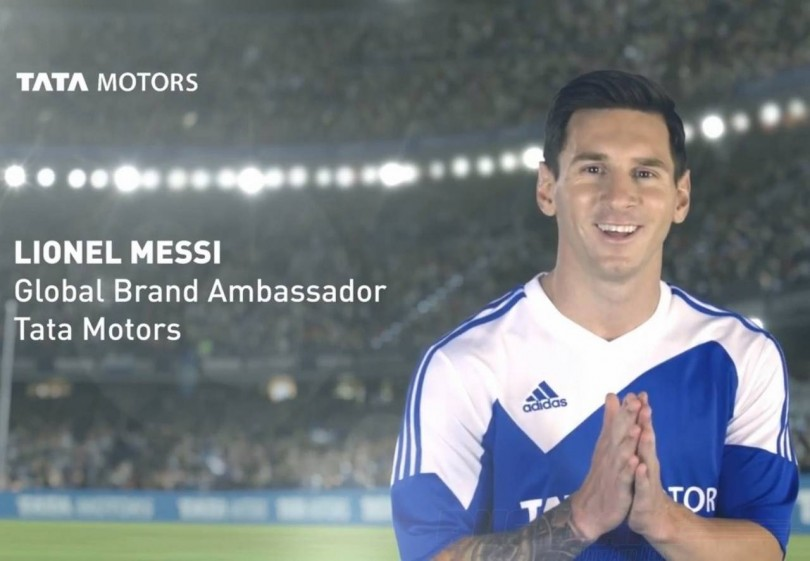 Tata Motors signed Lionel Messi as Global Brand Ambassador for its Passenger Vehicles